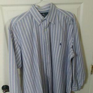 """🏇 Ralph Lauren🏇 """"Big Shirt"""" Men's Dress Shirt"""